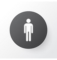 male icon symbol premium quality isolated vector image vector image
