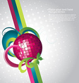 party design layout vector image