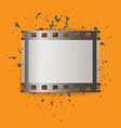 Picture film frame vector image