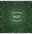 Season autumn sale vector image vector image
