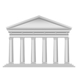 Tuscan temple vector image vector image