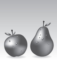 apple and pears vector image vector image