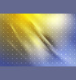 blue yellow smooth gradient abstract background vector image vector image