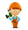 Cartoon handyman vector | Price: 3 Credits (USD $3)