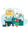 deadline teamwork and brainstorm business concept vector image vector image