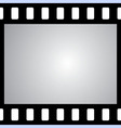 film strip with space for your text or image seaml vector image vector image