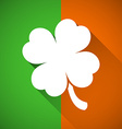 Four-leaf clover vector image vector image