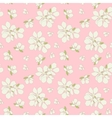 Seamless blossom background vector image vector image