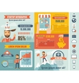 Startup Infographic Template vector image