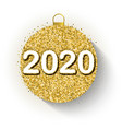 2020 design for new year vector image vector image