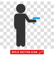 Child Robber Eps Icon vector image vector image