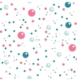 circles seamless pattern in pastel colors vector image vector image