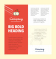 diamond ring business company poster template vector image