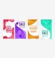 instagram stories design for sale vector image vector image