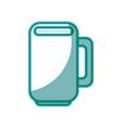 mug porcelain cup vector image