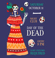 poster for national mexican holiday day vector image vector image
