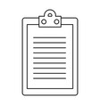 report table icon vector image vector image