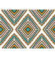 seamless pattern with ethnic tribal ornamental vector image vector image