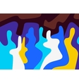 abstract people vector image vector image