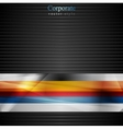 Abstract stripes design vector image vector image