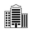 buildings icon architecture symbol vector image vector image