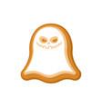 halloween cookie ghost cookies for terrible vector image vector image