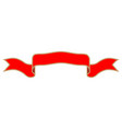 ribbon red sign 601 vector image vector image