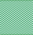 seamless black and green herringbone pattern vector image