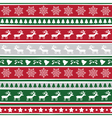Seamless Christmas background11 vector image