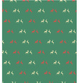 Seamless patterns with reindeer vector image vector image