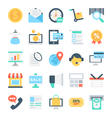 Shopping and E-Commerce Icons 2 vector image vector image