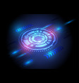 technology light blue abstract background vector image vector image
