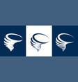 tornado icons vector image