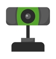 Web camera icon isolated on a white background vector image