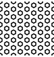 black outline hexagons seamless pattern vector image vector image