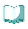 book education symbol vector image
