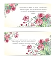Invitation card for wedding vector image vector image
