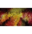 abstract bright mosaic vector image