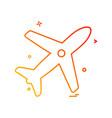 aeroplane icon design