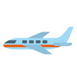 airplane flight cartoon vector image vector image