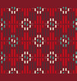 ethnic ornament from rectangles vector image vector image