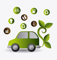Green energy design vector image vector image