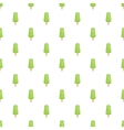 Green fruit ice cream pattern cartoon style vector image