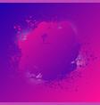 grunge splash banner print for t-shirt abstract vector image