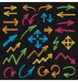 Highlighter Arrows Design Elements