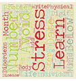 Numerology and Disease text background wordcloud vector image vector image