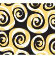 pattern swirl vector image vector image