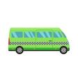 Taxi bus vector image vector image