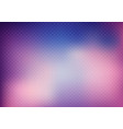 abstract 3d purple color grid on blurred vector image vector image