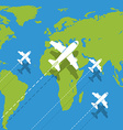 background planes vector image